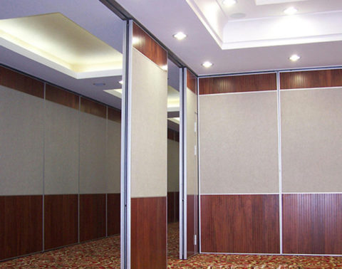 Operable Partition Wall Panel Design Decorative Removable