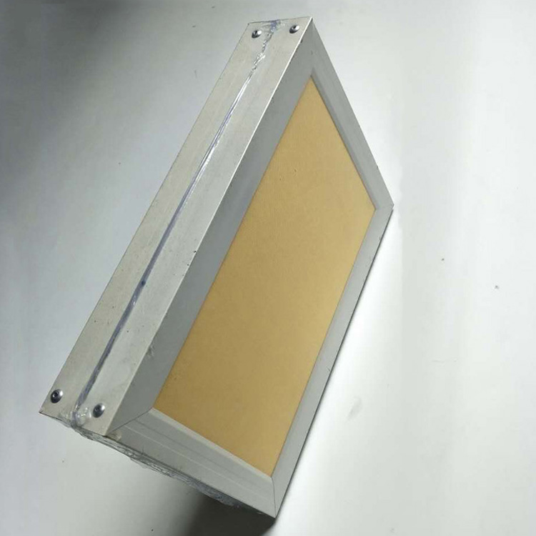 Fabric Suspended Ceiling Acoustic Absorber Aluminum Baffle Ceiling