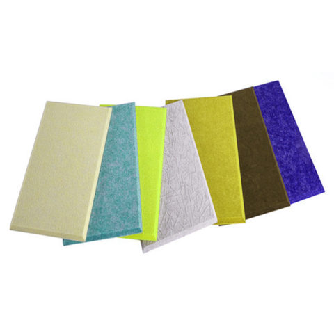 Polyester Fiber Panel Polyester Resin Decoration Panel Sound Absorption Material