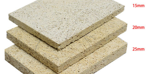 Wood Wool Acoustic Panel Anti Sound Absorbing Panels Wood Fiber Mineralized Panel