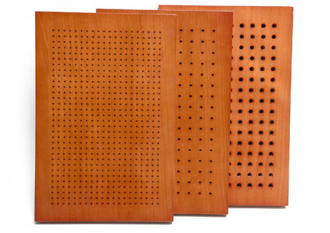 Wooden Perforated Acoustic Panel Wood Perforated MDF Wall Panel