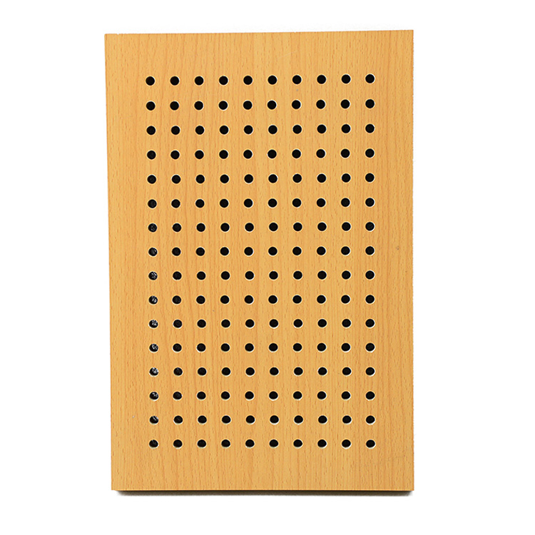 Perforated MDF Board Acoustic Panel MDF Acoustic Ceiling Board Wall Panel