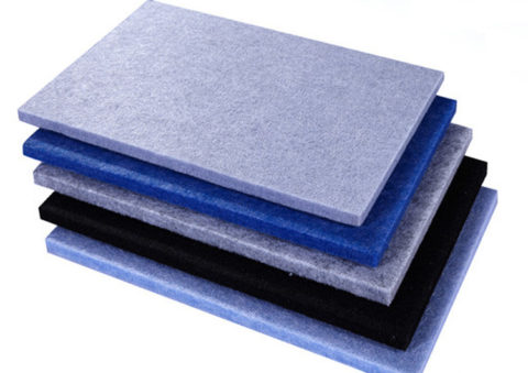 Polyester Board Polyester Fiber Acoustic Board Sound-Absorbing Panel Sheet