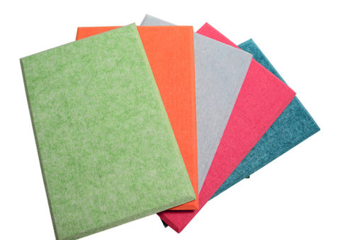 Polyester Fiber Acoustic Panels Sound Absorbing Wall Covering Sound Absorber