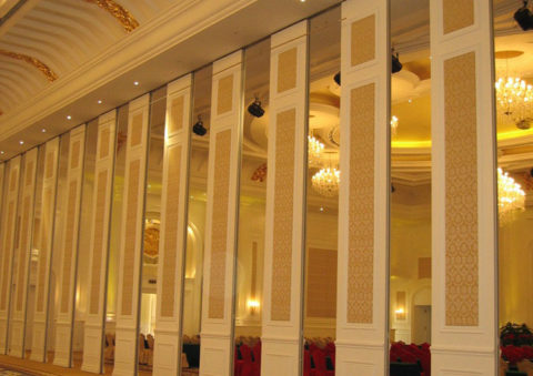 Sliding Acoustic Folding Partition Wall Portable Doors Room Dividers Commercial Auditorium