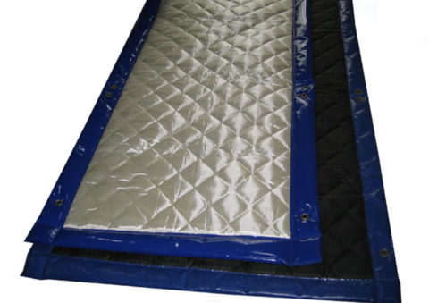Acoustic Blanket Rubber Barrier Sound Barrier Blankets
