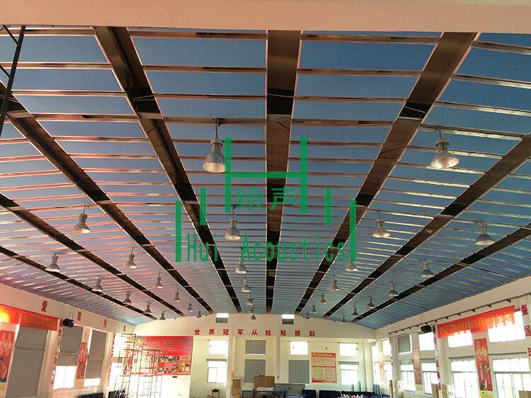 Gymnasium Sound Baffles Project Pictures Hui Acoustics