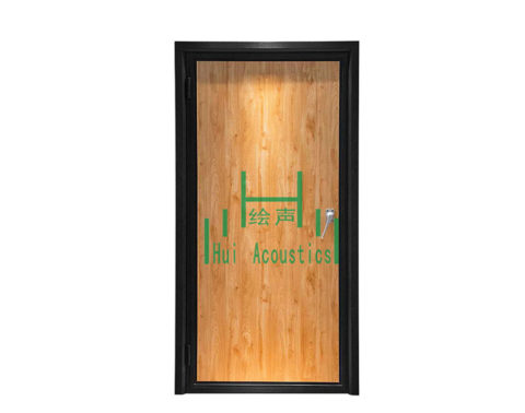 Sound Insulation Door Soundproof Composite Interior Doors Soundproofing Wood