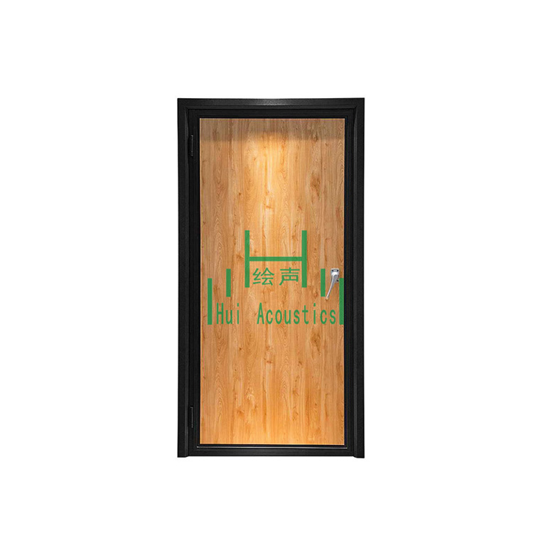 Sound Insulation Door Soundproof Composite Interior Doors Soundproofing Wood Door Hui Acoustics